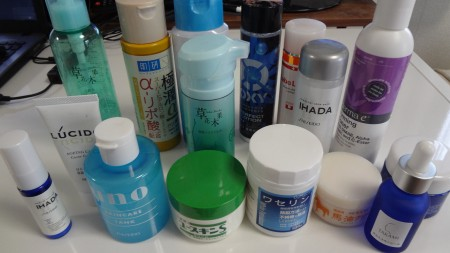脂漏性皮膚炎 化粧品